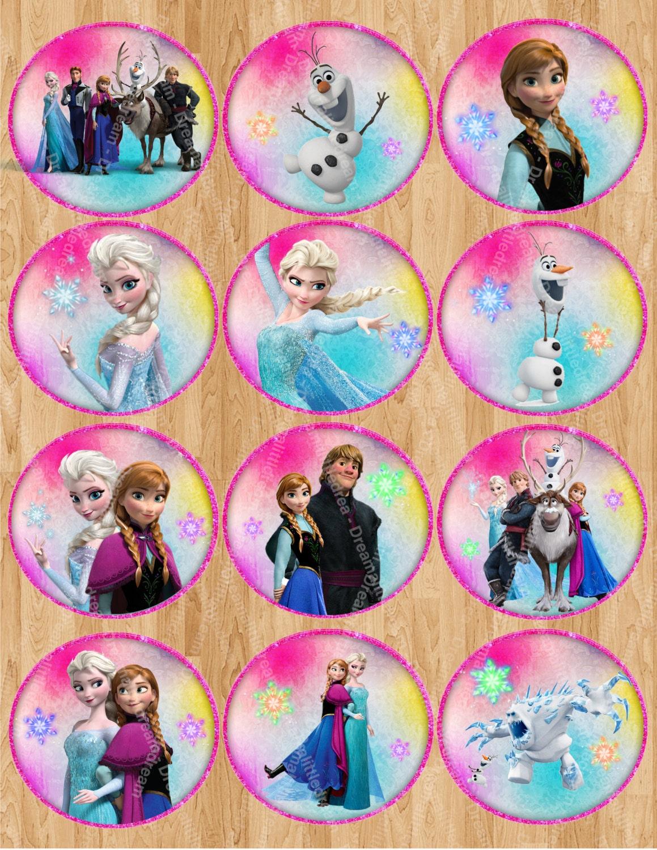 Disney Frozen Disney Frozen Birthday Printable Stickers