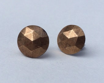 Cast Diamond Studs