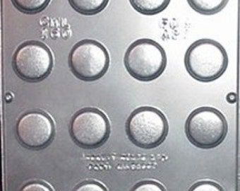 Small Discs Circles Candy Mold for Chocolate Candy Making 160