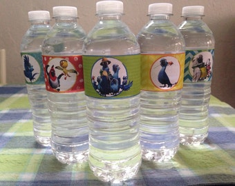 Rio 2 Printable Water Bottle Labels