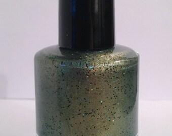 Zombie Glamour - Handmade Custom Nail Polish / Glitter Polish