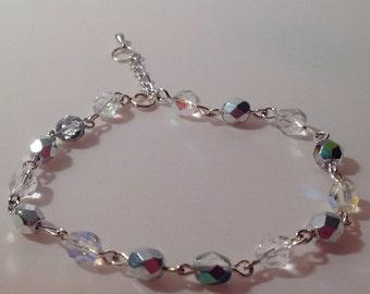 Sparkle beaded bracelet