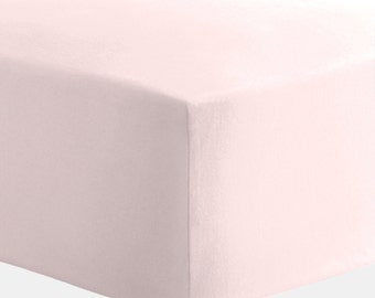 Baby Girl Crib Bedding: Solid Pink Crib Sheet by Carousel Designs