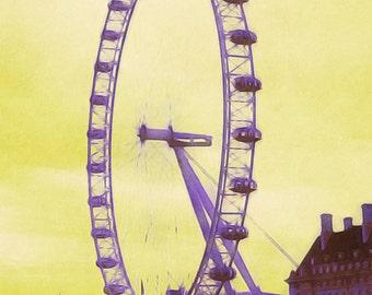 Instant download The London Eye 2 printable art   SKU: BTTLE002