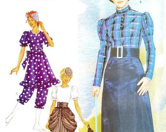 Butterick 3187 Misses' Victorian Costume Pattern