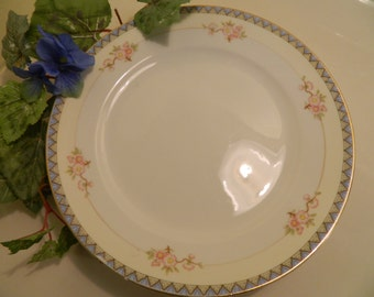 Set of 4 Vintage Noritake The Marne Dinner Plates