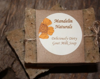 Deliciously Dirty Goat Milk Soap, Natural Soap Product