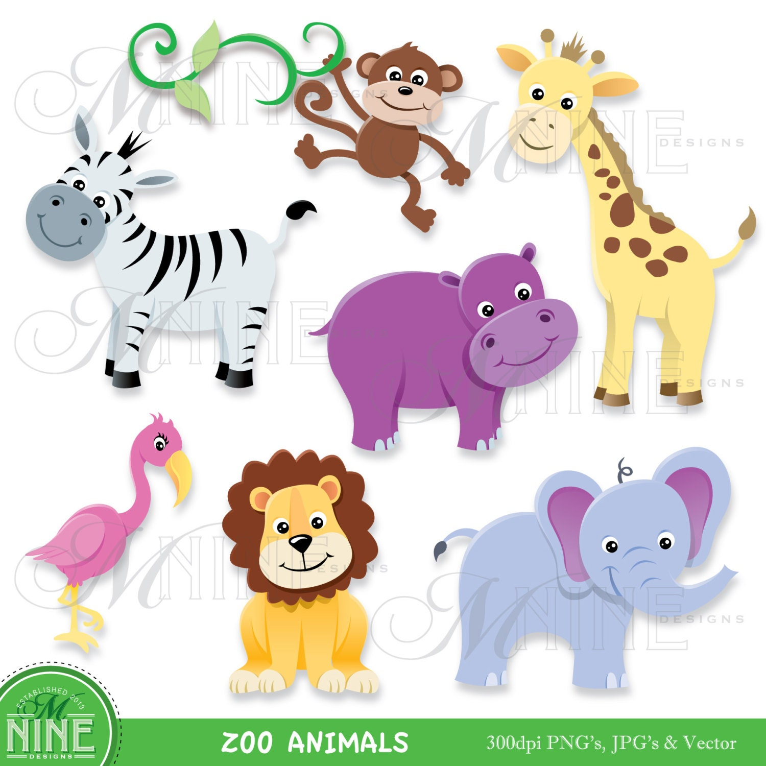 free clipart zoo animals - photo #8