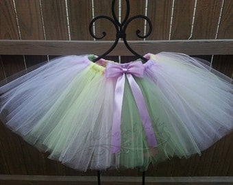 Pastel Tutu-Birthday Tutu-Toddler Tutu-Photography Prop