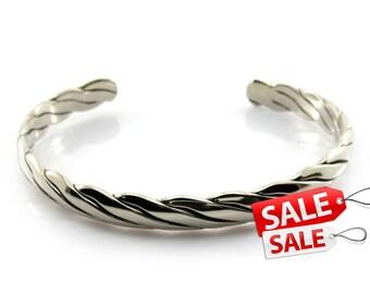 Simple Silver Cuff Bracelet Simple Silver Bracelet Cuff Simple Silver Brass Cuff Bracelet Simple Silver Brass Bracelet Cuff 055