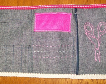 Kit couture jeans and cotton fushia