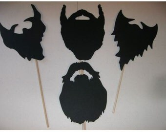 Duck Dynasty Prop Set Beards #4 pieces (2021D)