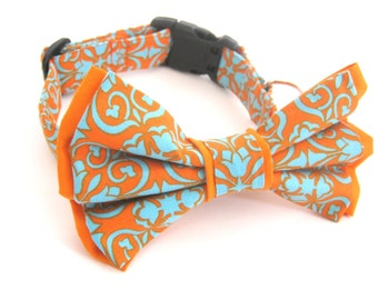 Bow Tie Collar Small Medium Large Removable Dog Bowtie Collar