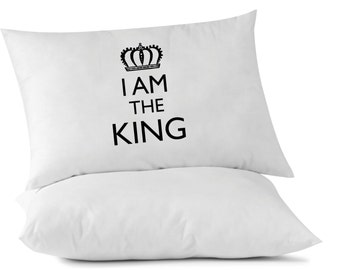 I am the King - Father's Day Pillowcase - 1 standard