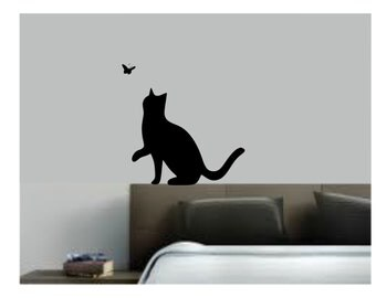Cat or Kitten Wall Decal