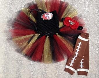 49ers Tutu Set
