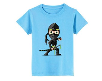 Ninja T-Shirt for children - available in many sizes and colors