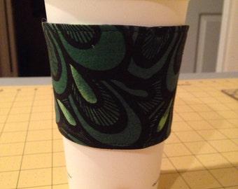 Reversible coffee cozy SALE
