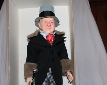 Effanbee WC Fields Doll c 1980