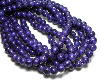 8/9mm Purple Salwag Seed Beads, Purple Salwag Beads, Purple Seed Beads, Salwag Seed Beads, Purple Beads, Purple Natural Beads D-O05P