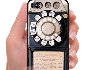 Vintage Payphone (D17)iPhone & Galaxy Phone case.