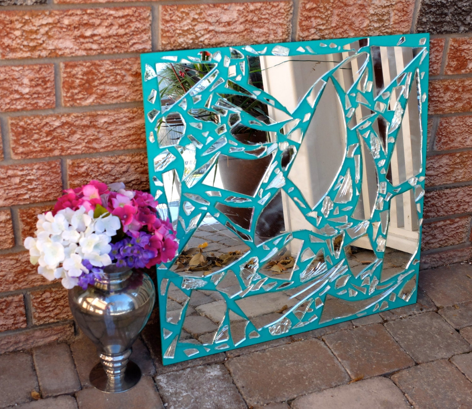 Sale broken mirror home decoration decor centrepiece for Home decor items on sale