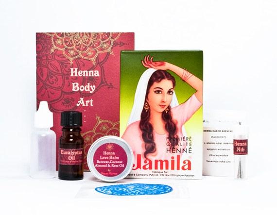 shelly henna paste instructions