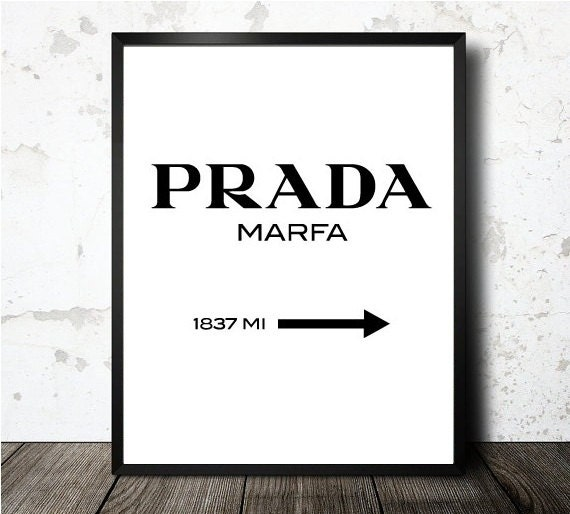 prada marfa print prada poster gossip girl by oneblurpictures. Black Bedroom Furniture Sets. Home Design Ideas