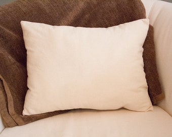 Pillow Insert, Organic Cotton, 12x16inch