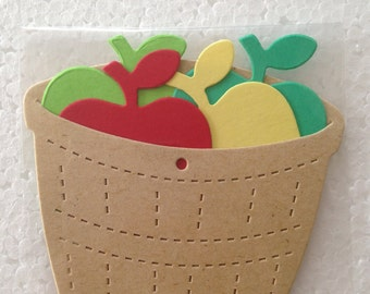 Apple Basket Die Cuts Bundle