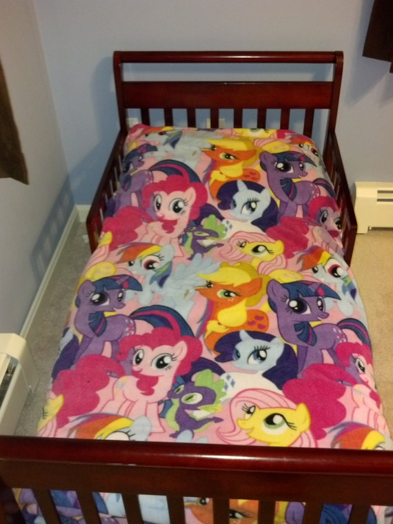 Items Similar To My Little Pony Toddler Comforter On Etsy. ➤. My Little  Pony Complete Bedding Set ...