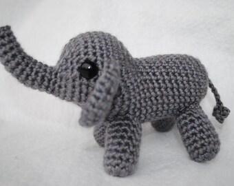 Little crocheted elephant