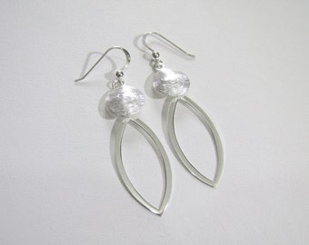 ANKA High Street 925 Sterling Silver Earrings Stylish Designed Dangle Earrings Everyday Fine Jewelry
