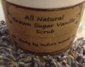 ALL natural sugar scrub (spa in a jar)