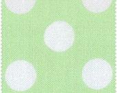 Basic Bright & Pastel Dots - Light Green/White - Windham Fabrics - Fat Quarter