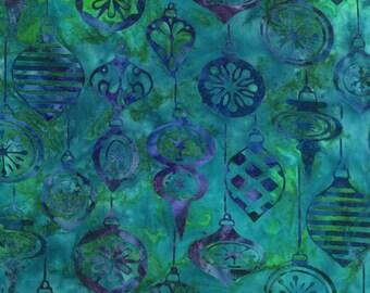 Robert Kaufman Artisan Batik Noel 2 Winter Ornament Batik Fabric by the Yard AMD-13811-277