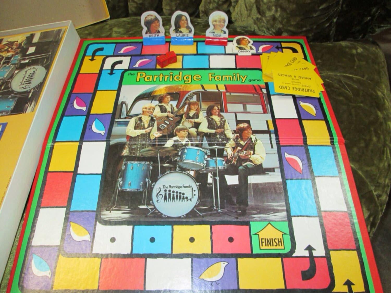 milton bradley board game cable tv vintage partridge family. Black Bedroom Furniture Sets. Home Design Ideas