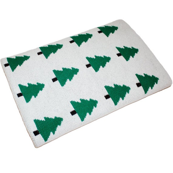 SpearmintLove Eco Forest Baby Blanket