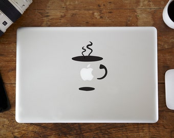 Coffee Cup MacBook Decal