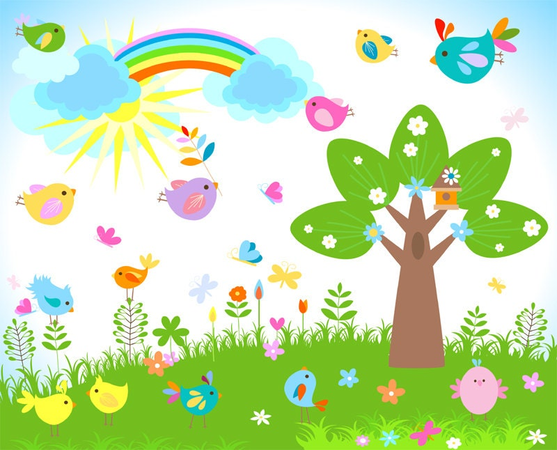 clipart garden flowers - photo #11