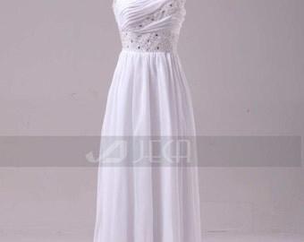 Grecian Style Wedding Dress Summer Wedding Dress Casual Wedding Dress Beach Wedding Dress W844