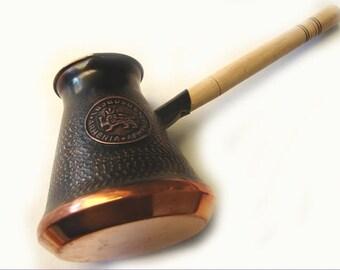 Armenian HANDMADE coffee maker, turkish coffee maker, delicious coffee maker, handmade copper coffee pot