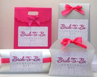 DIY Bride-To-Be Survival Emergency Wedding Kit
