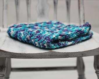 """Handmade crochet blanket 17"""" x 17"""""""