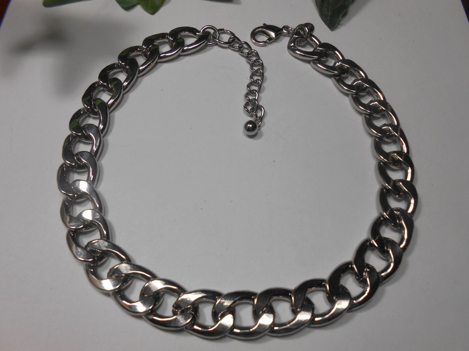 chicos large link chain necklace by fischforbargains