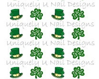 St Patricks Day Nail Decals