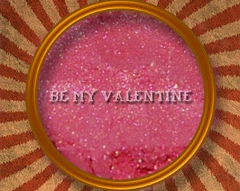 Be My Valentine -  Pink Mineral Eye Shadow - Made in the USA