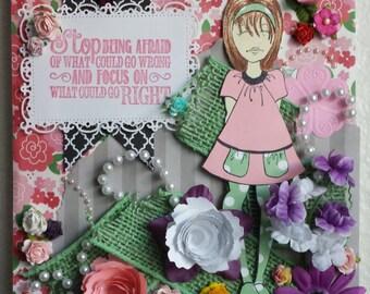 Girly-girl Collage Kit