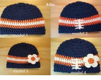 Inspired Chicago Bears  Adult Hat/Beanie ( men & women)