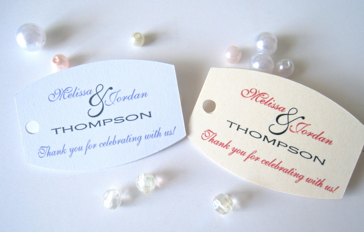 Small wedding favor tagspersonalized gift tagsparty favor for Small tags for wedding favors